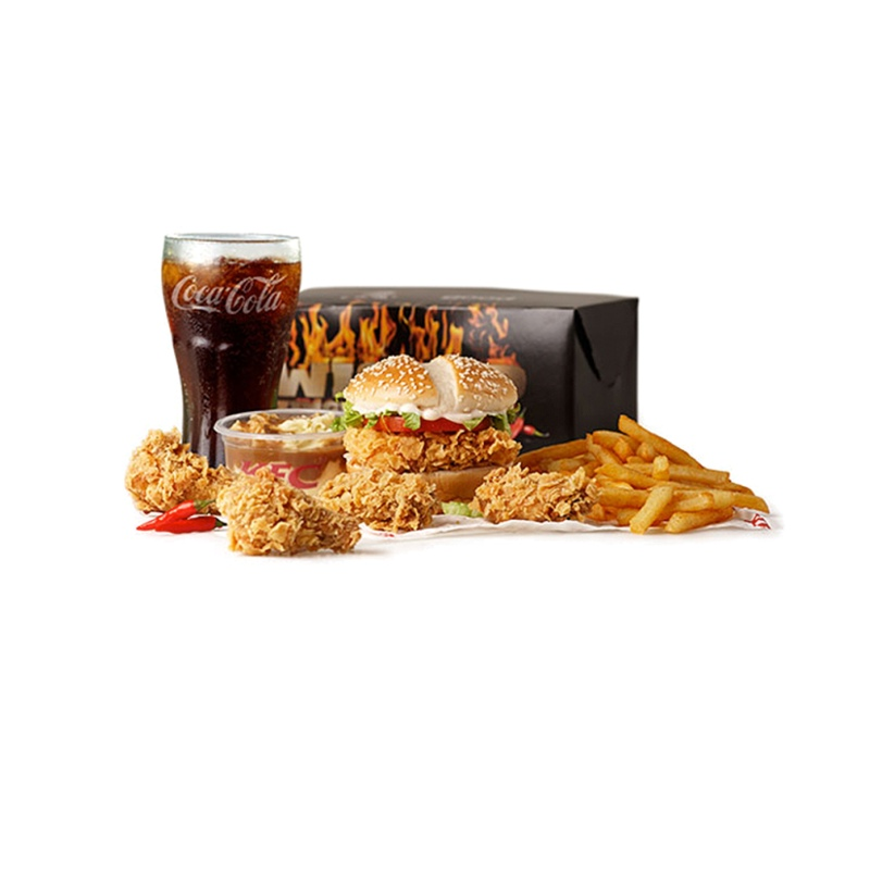 Wicked Zinger Box Meal Kfc On Delivery Club